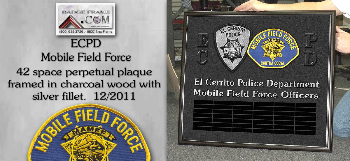 ECPD - Mobile Firld Force
