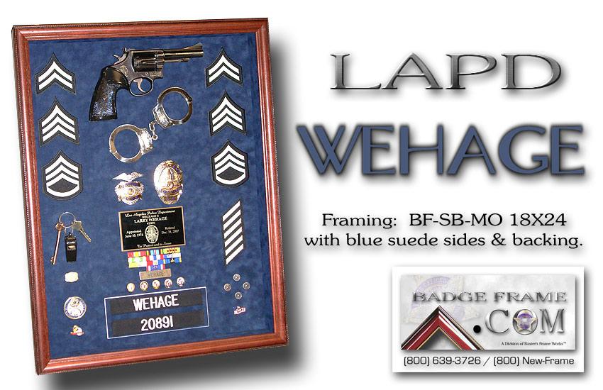 Wehage / LAPD