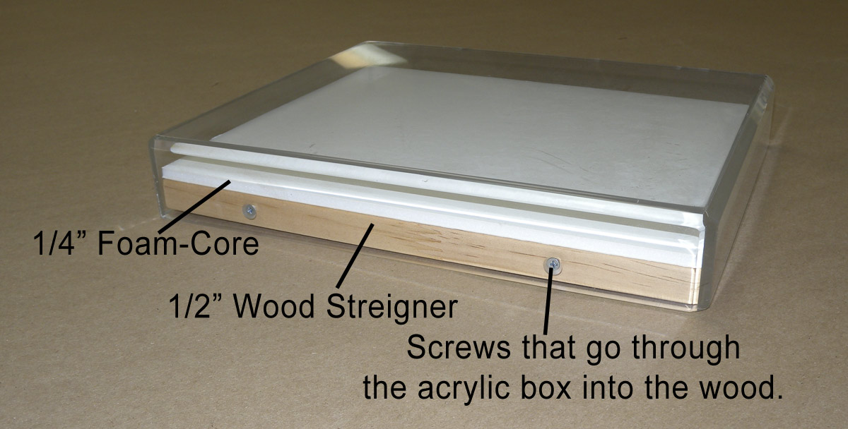 Acrylic Box Picture Frames : Acrylic