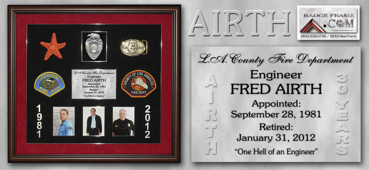 Fred Airth - Pomona / L.A. Co. Fire