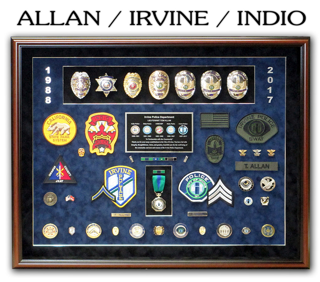 Allan / Irvine and Indio PD