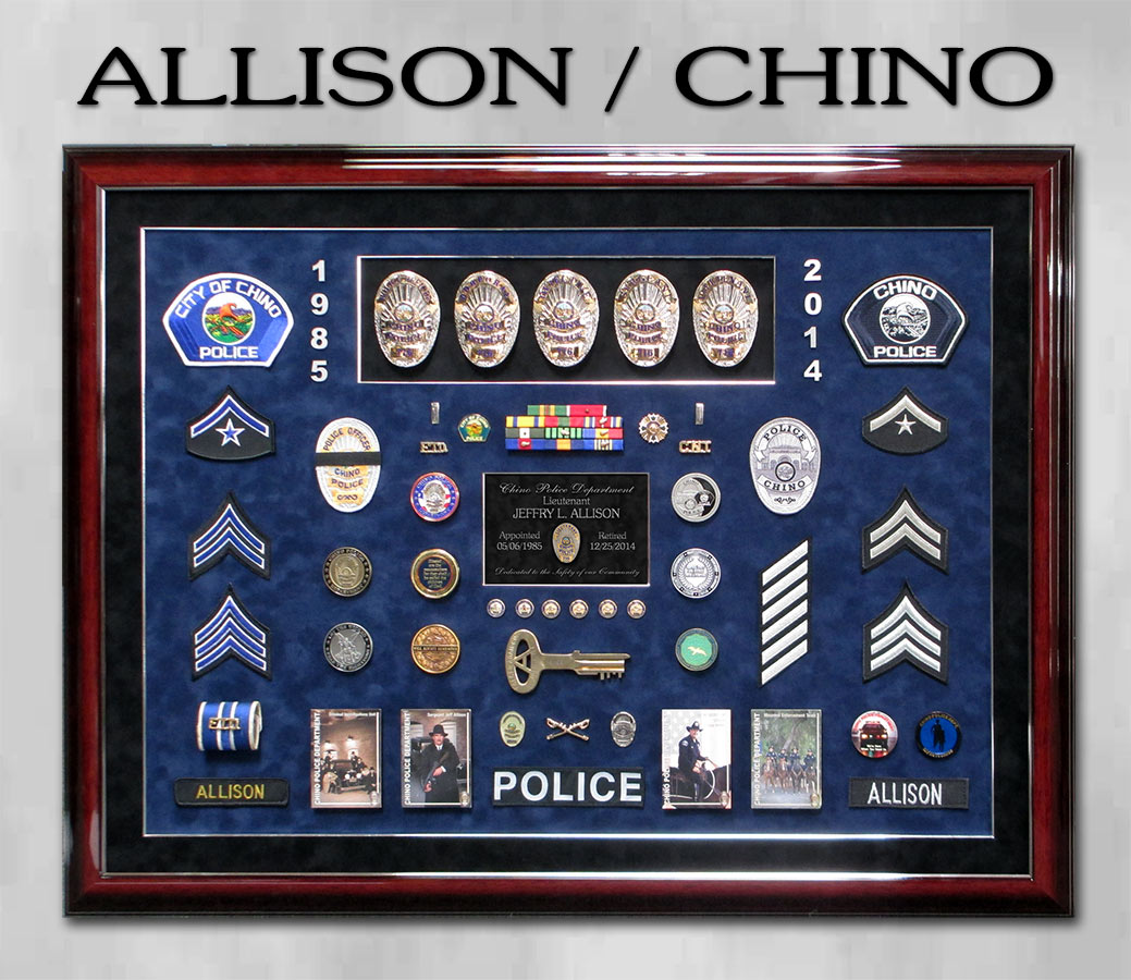 Allison / Chino PD Retirement