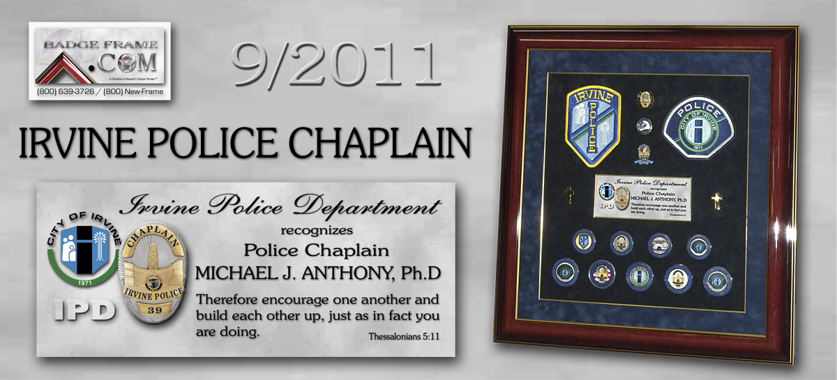 Anthony - Irvine PD Chaplain