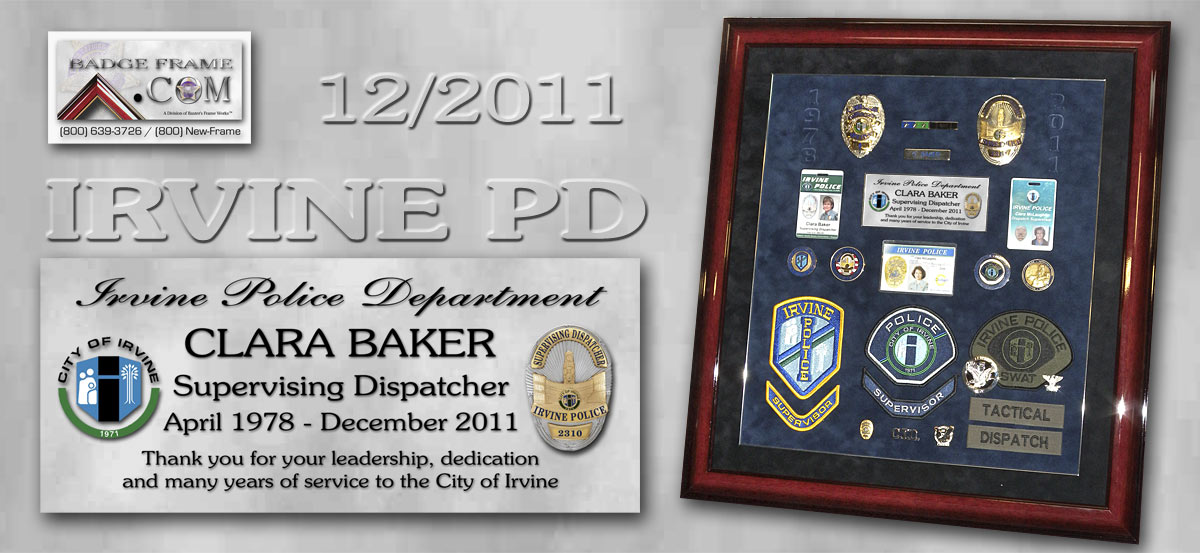 Baker - Irvine PD