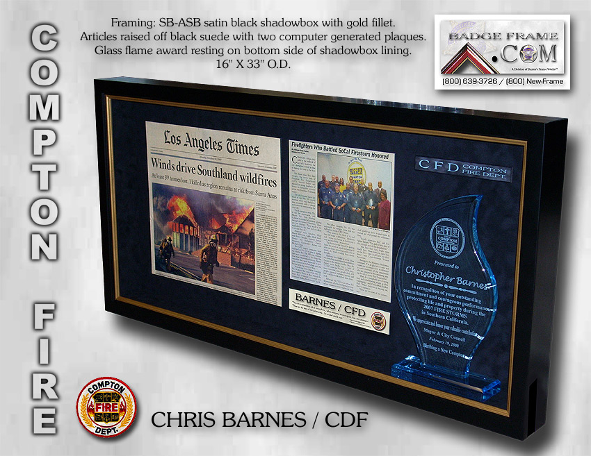 Chris Barnes - Compton Fire