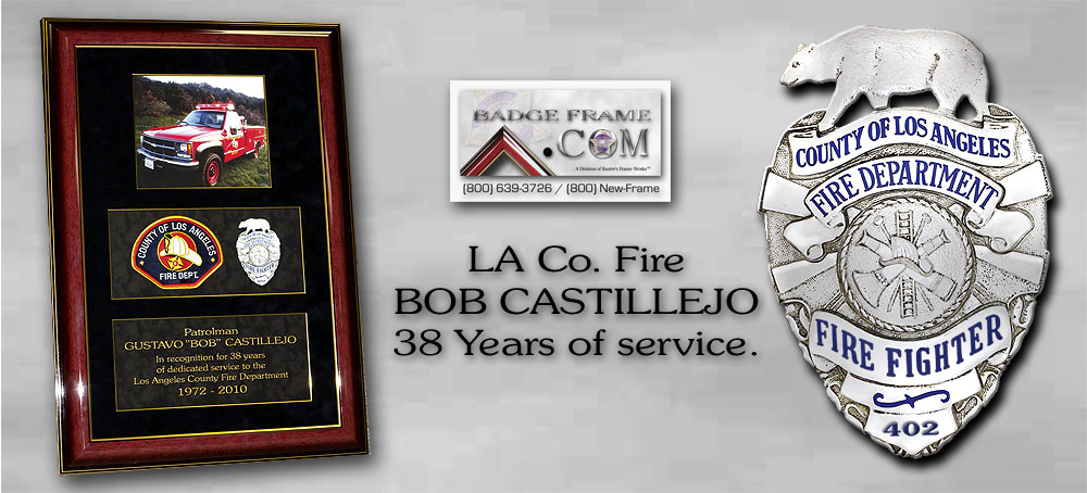 Bob Castillejo - LA Co. Fire
