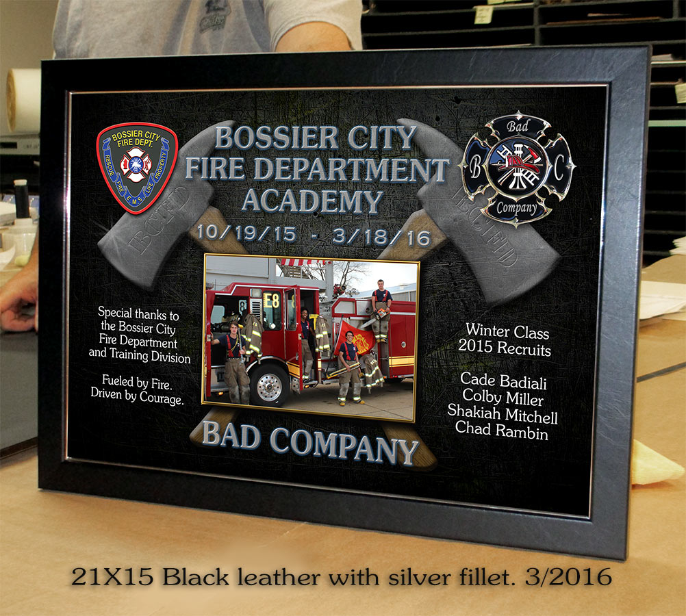 Bossier Fire Department Academy           Presentation 3/2016