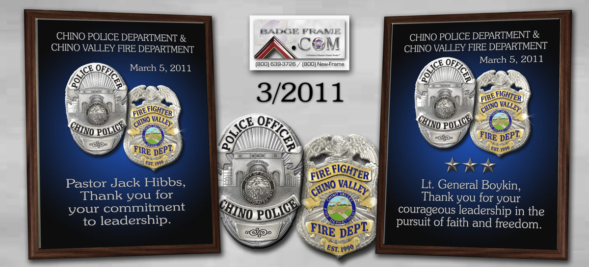 Chino Police Department &         Chino Valley Fire