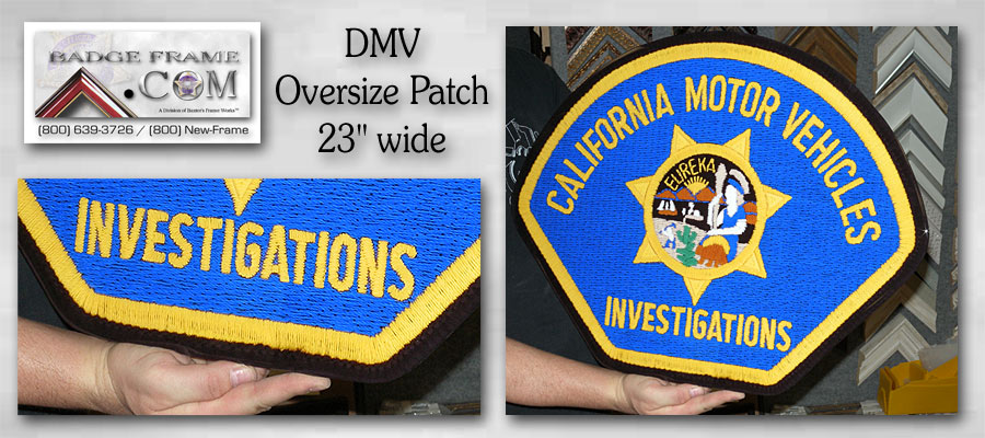 DMV INV Oversized patch