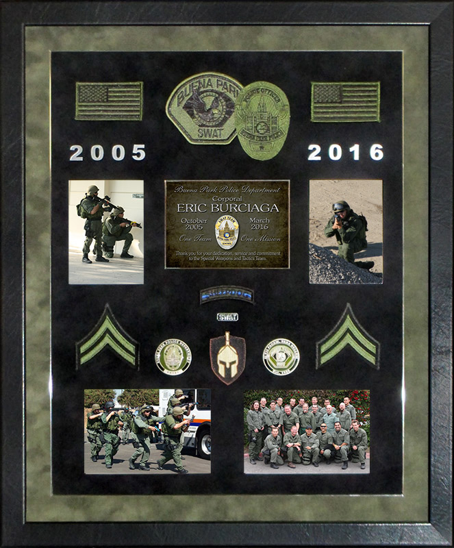 Burciaga / BPPD / SWAT           Presentation from Badge Frame
