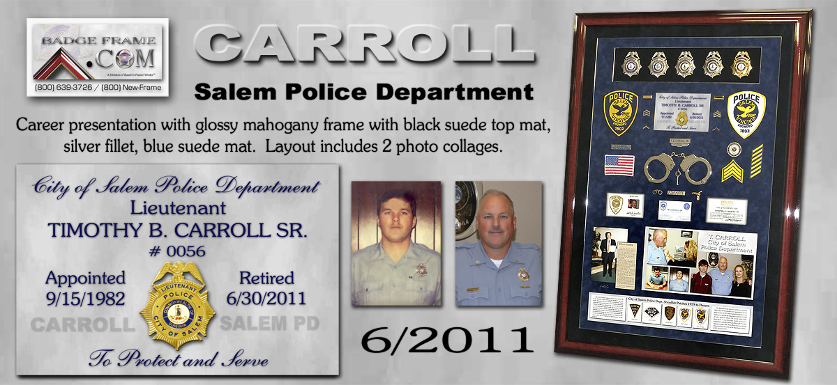 Timothy B. Carroll - Salem PD