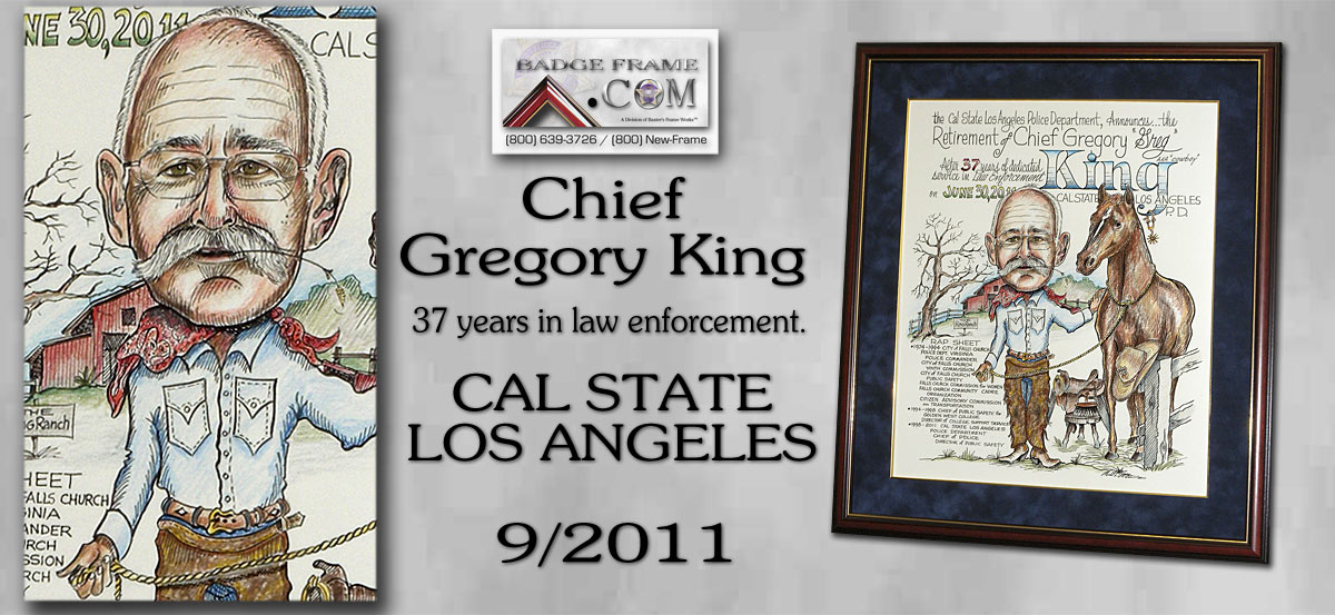 Chief Gregory - Cal State Los Angeles