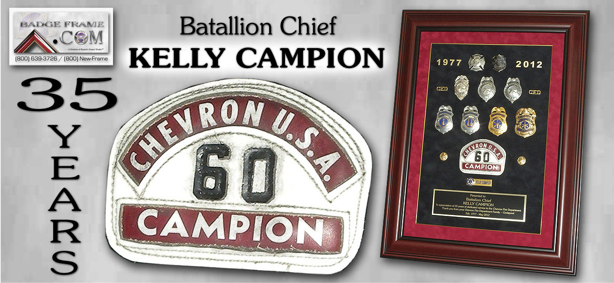 Kelly Champion - Chevron Fire
