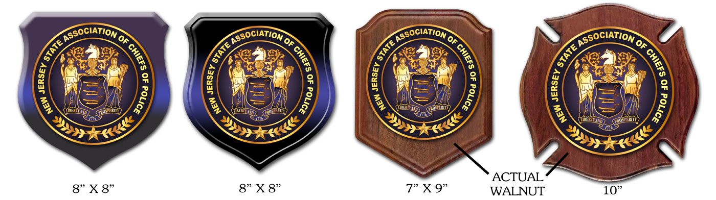 NJ Police Chiefs Assoc. seals
