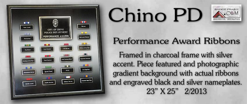 Chino PD - Performance Award Ribbons