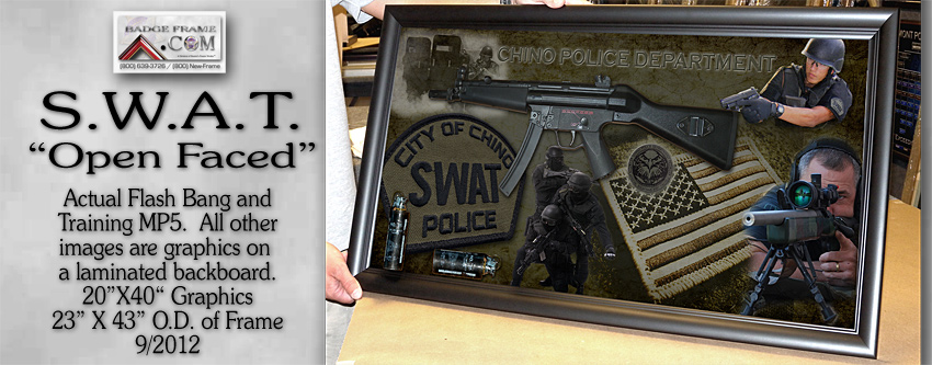 Chino PD - Open Faced SWAT Presentation