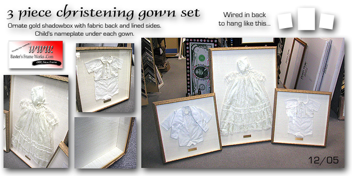 Christening Gown Set