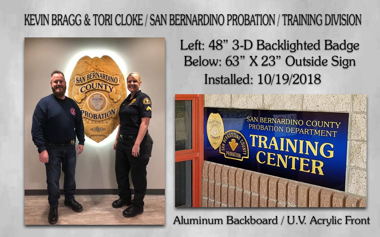 San Bernardino County Probabtion / Tori Cloke