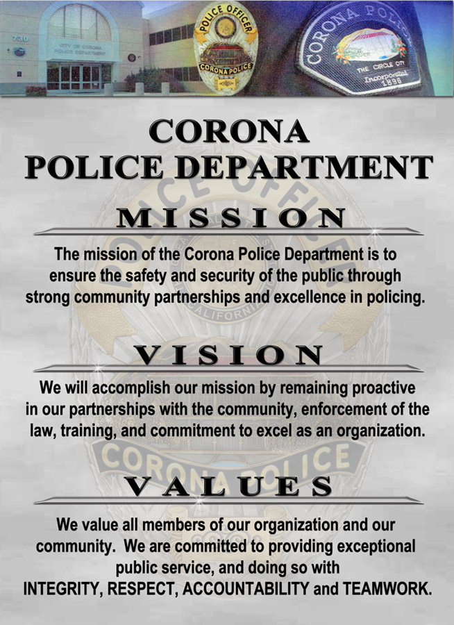 Ethics, Mission Statements, Core Values, Vision Statements