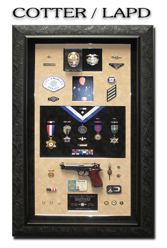 LAPD, Badge Frame