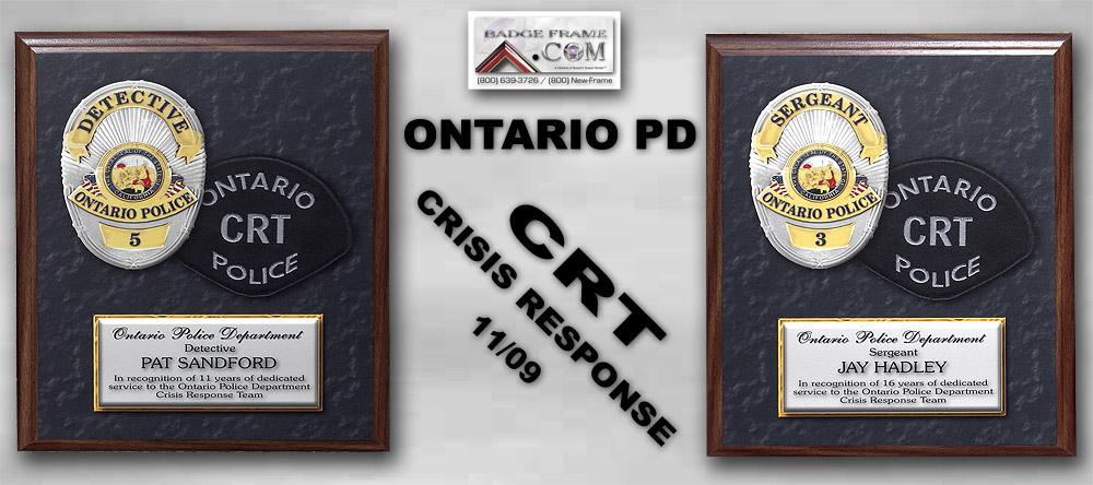 Ontario PD - CRT