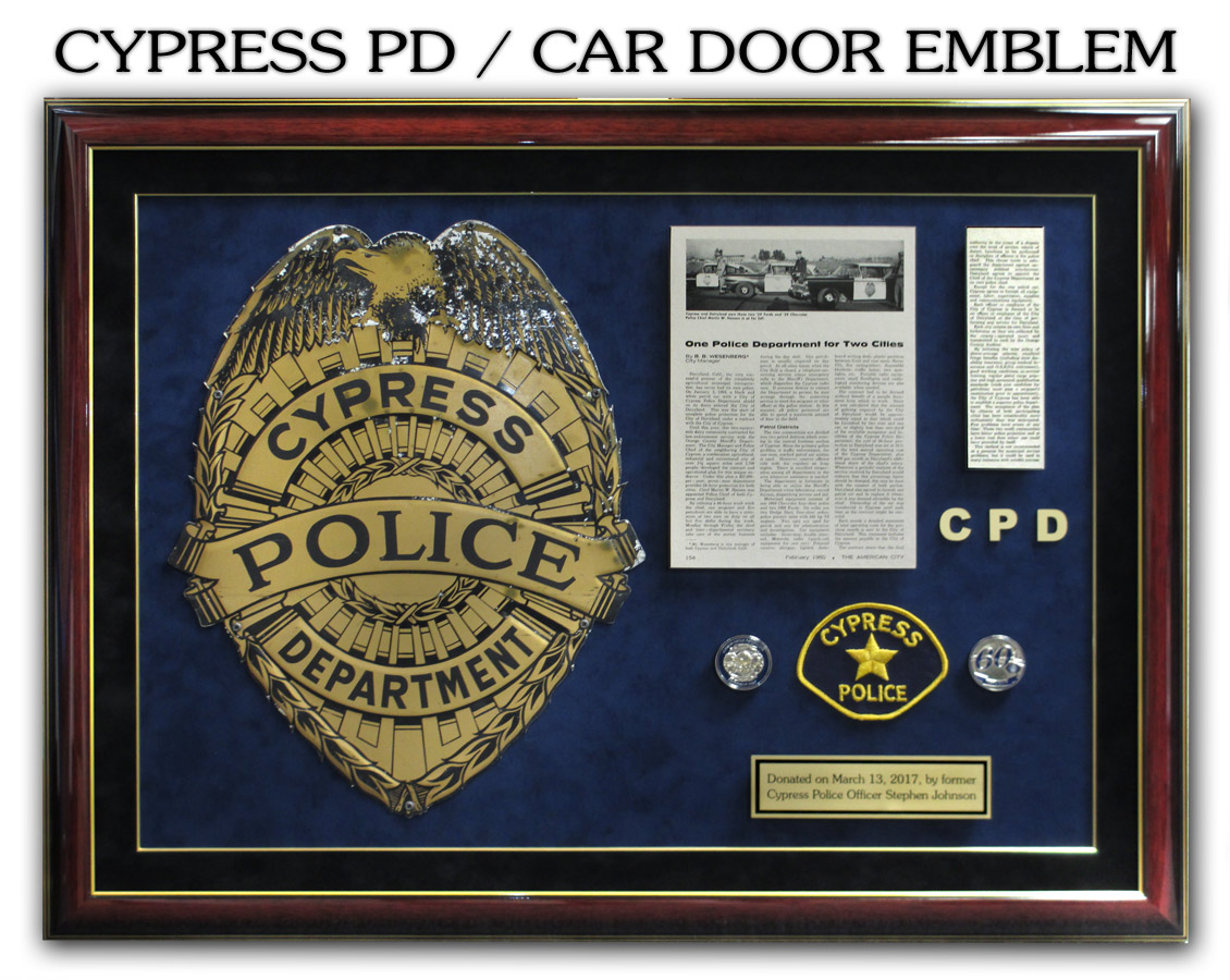 badge frame custom career shadowboxes for police sheriff