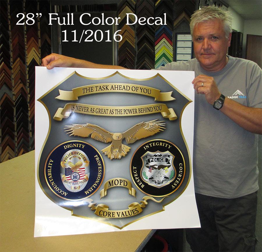 Police Emblem Decal