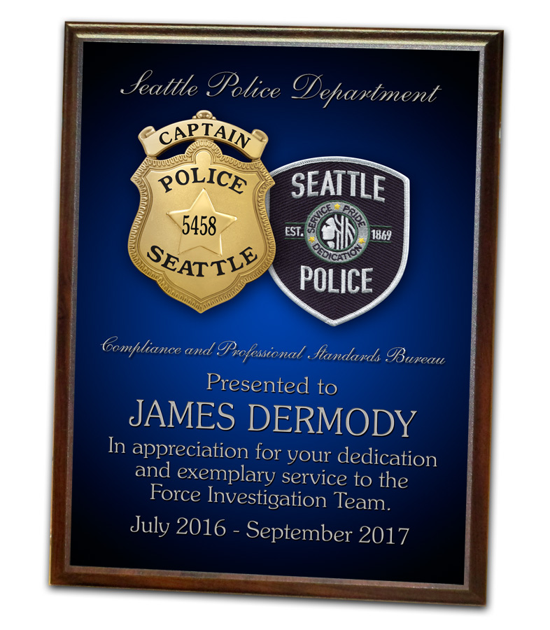 Dermody - Seattle PD Recognition from Badge Frame