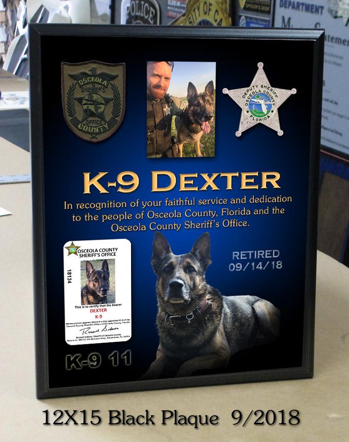 Dexter / Osceola County Sheriff K-9