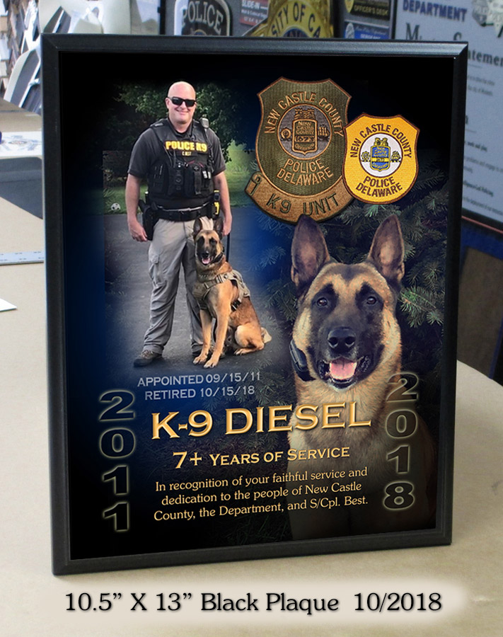 New Castle County - K-9 Diesel