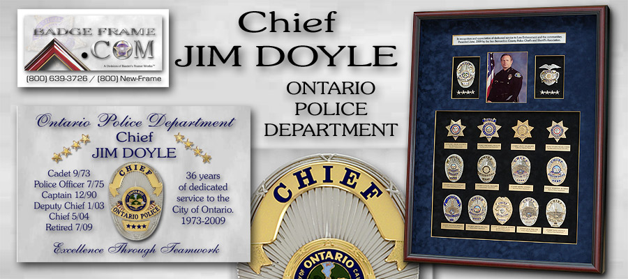 Chief Jim Doyle - Ontaio PD