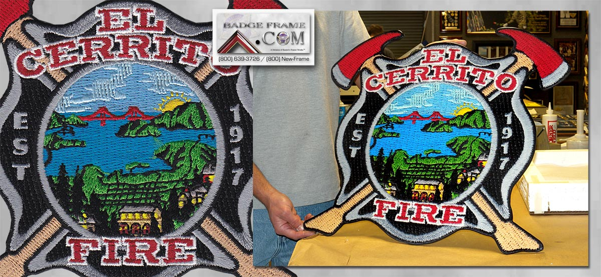 El Cerrito Fire Patch
