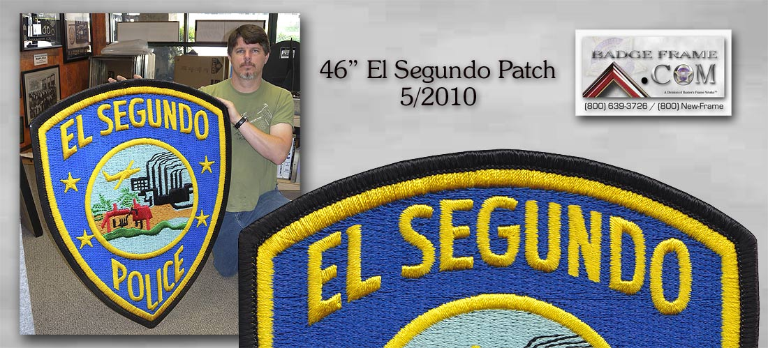 El Segundo Oversize Patch