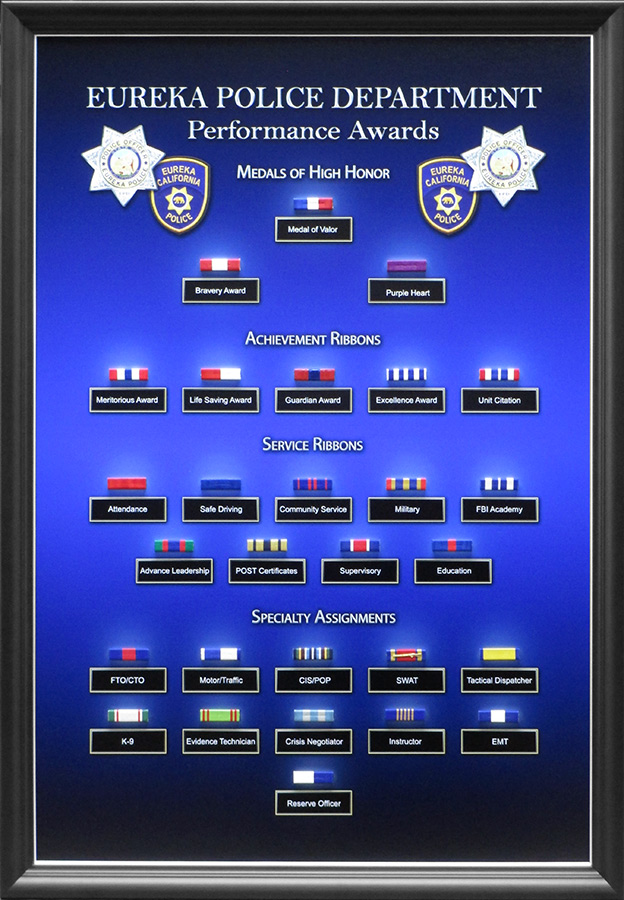 Accommodation Ribbon Awards from Badge Frame