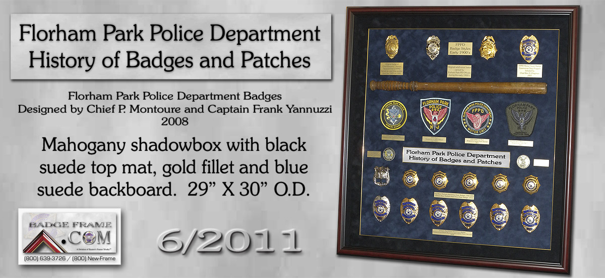 Florham Park PD - History of Badges & Patches