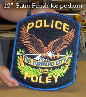Foley PD Podium Patch