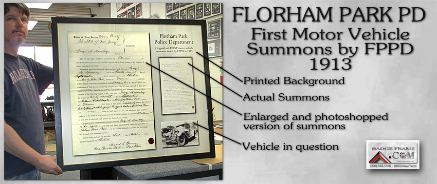 FPPD - First Vehicle Summons
