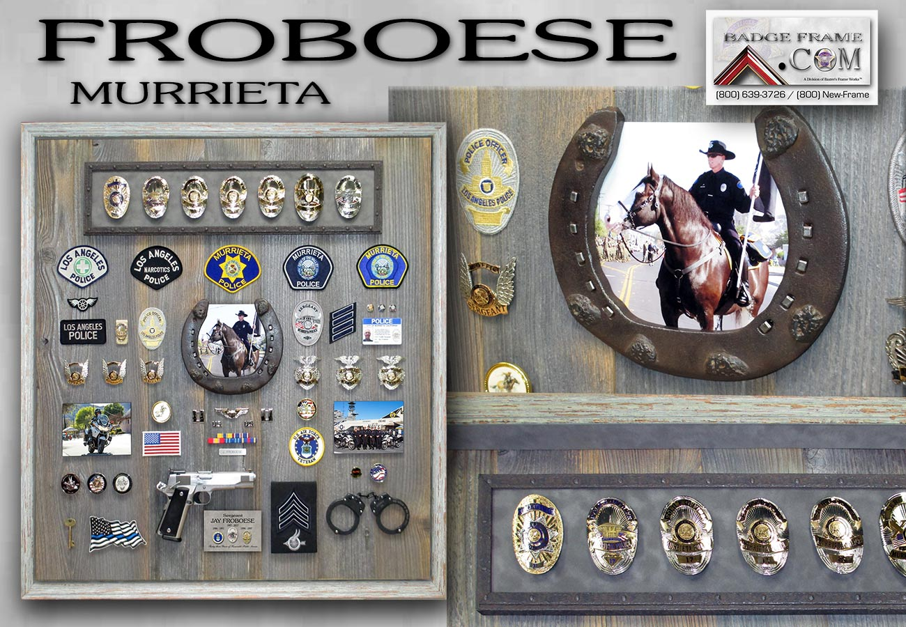 Froboese -             Westminster Shadowbox from Badge Frame