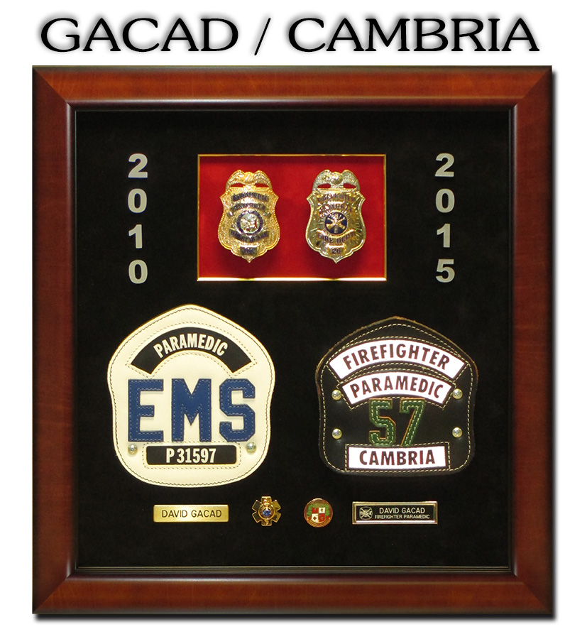 GAcda / Cambria FD presentation from Badge Frame