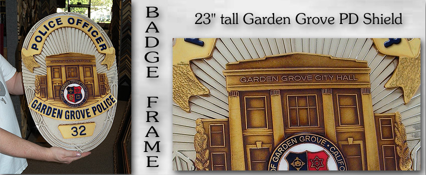 Garden Grove PD Shield