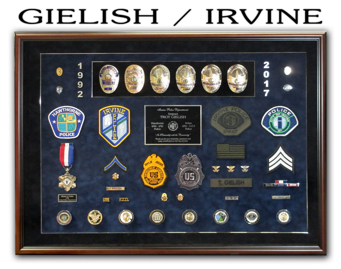 Gielish / Irvine PD
