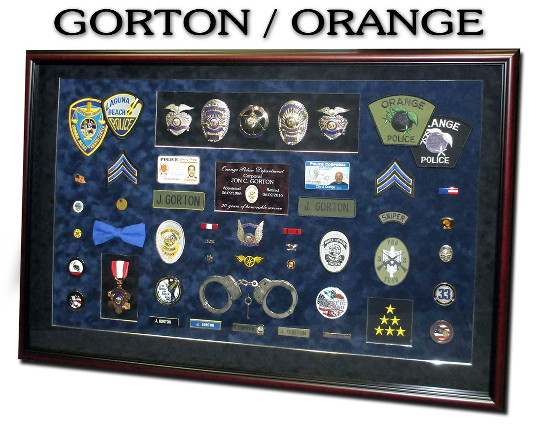 Gorton -                 Orange PD
