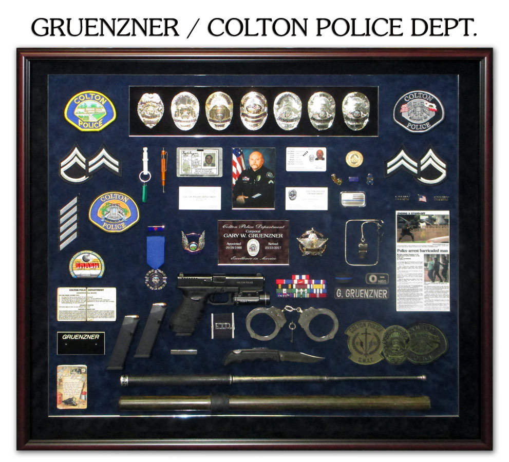 Gruenzner / Colton PD presetation from Badge Frame