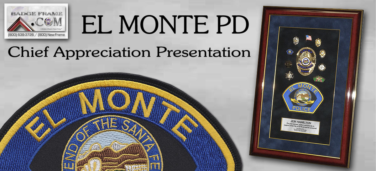 Jon Hamiltion - Elmonte Chief's Recognition