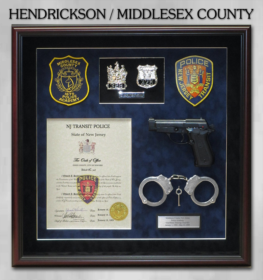 Hendrickson / Middlesex County PD Retirement