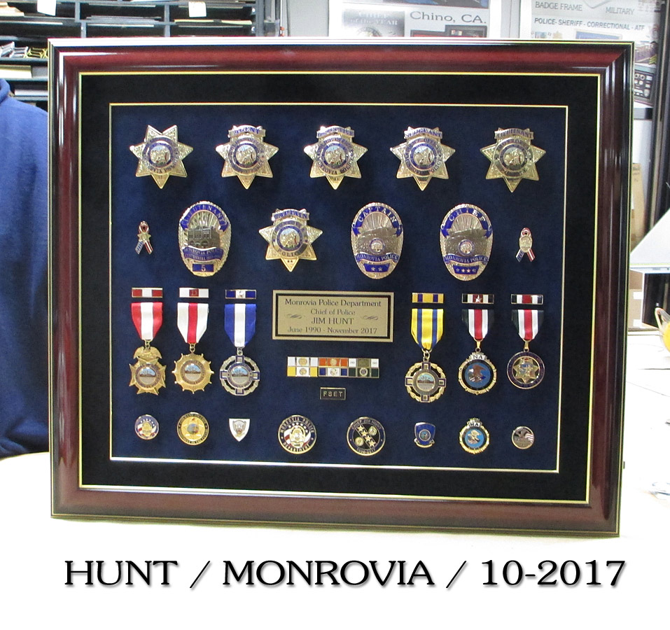 Hunt - Monrovia PD presentation from Badge Frame