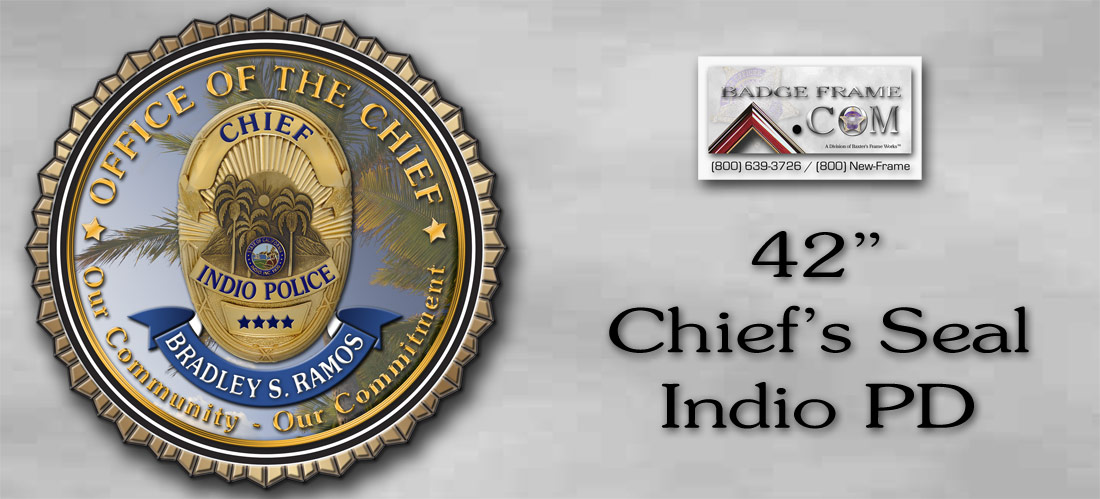 Indo PD Chief's Seal