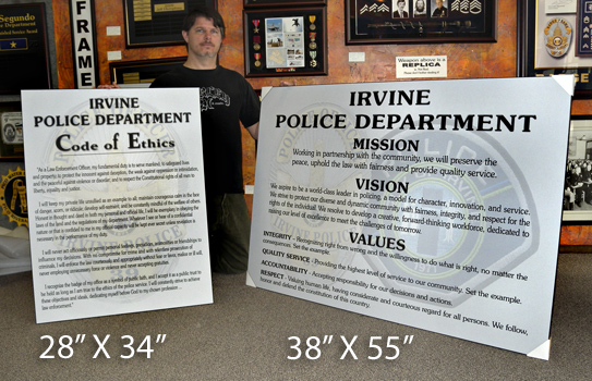 Mission Statement -             Irvine Police Department