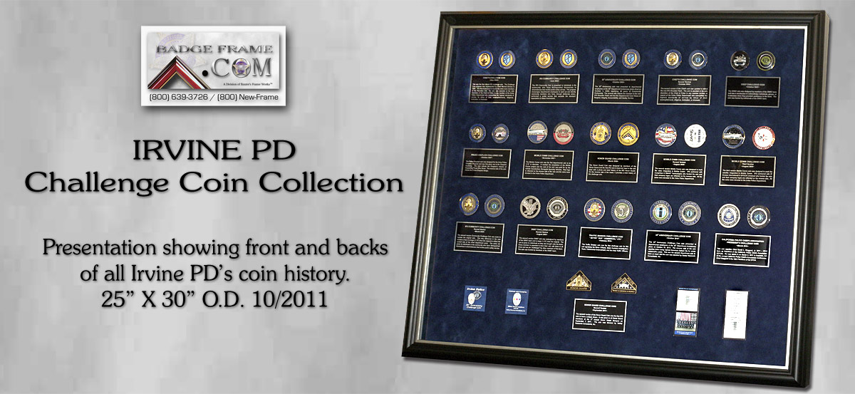 Irvine PD - Coin Collections