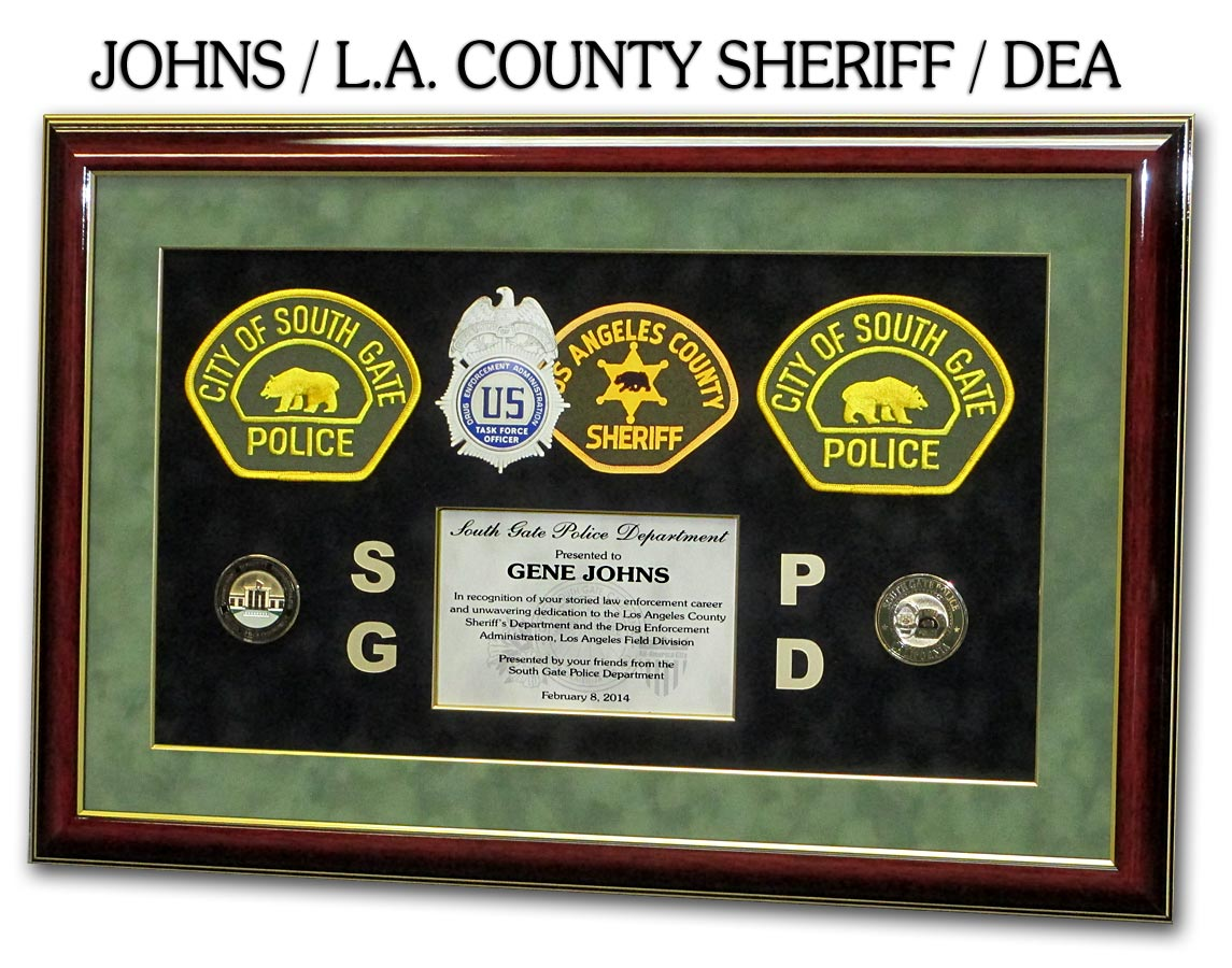 Johns - LA County Sheriff           _ DEA
